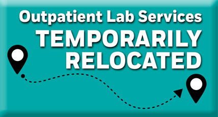 Lab Service Relocated