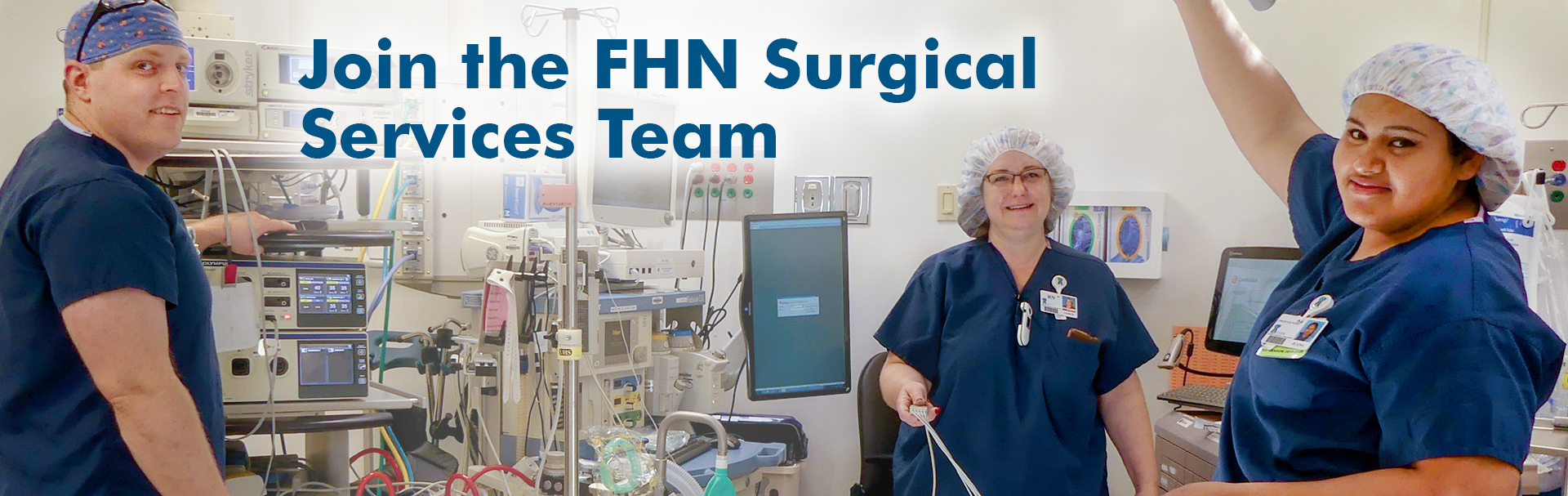 Join the Surgical Services Team at FHN
